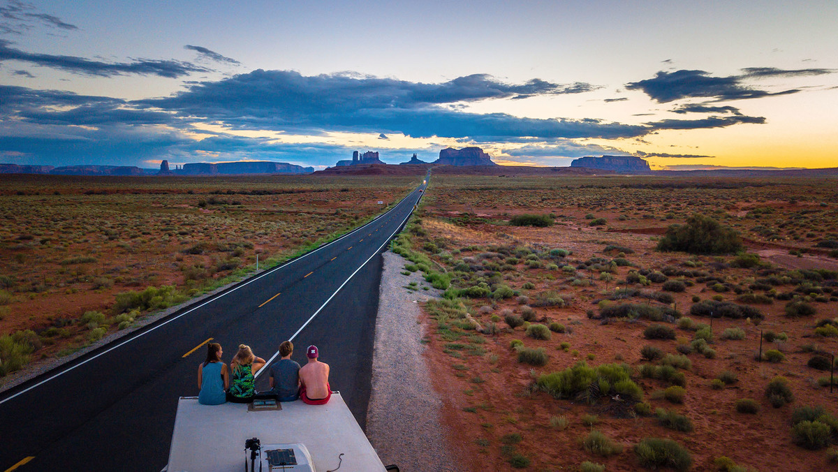 work and travel usa monument valley